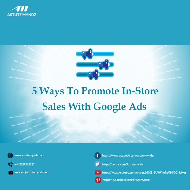 Promote In Store Sales with Google Ads