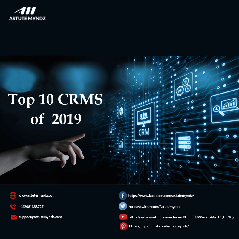 Top 10 Best CRMs Of 2019