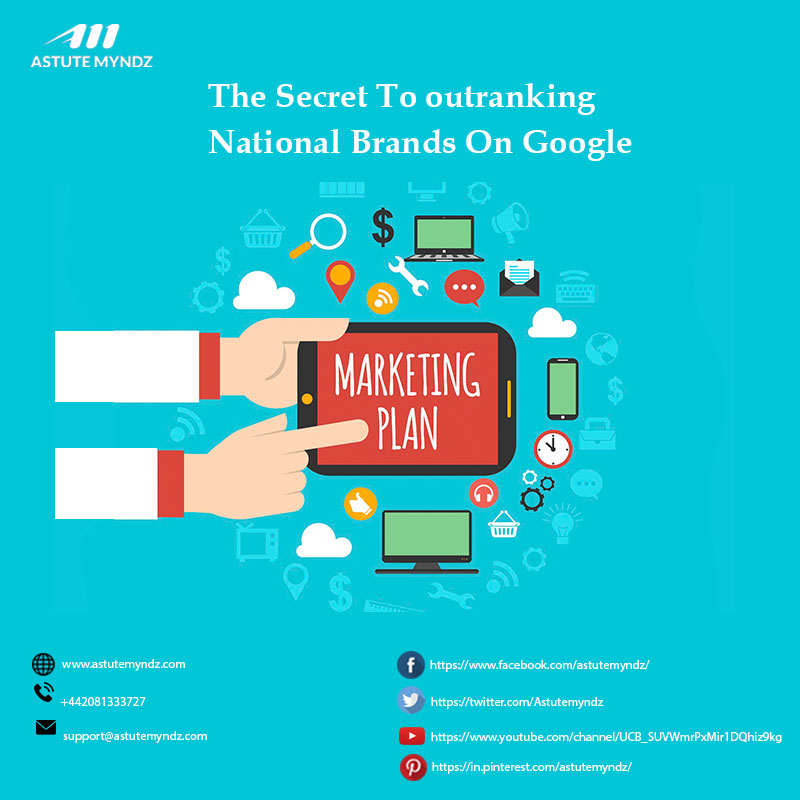 The Secret To Outranking National Brands On Google